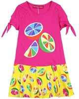 Agatha Ruiz de la Prada Multicolour Lemon Print Dress