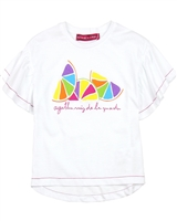 Agatha Ruiz de la Prada T-shirt with Multi-colour Lemons