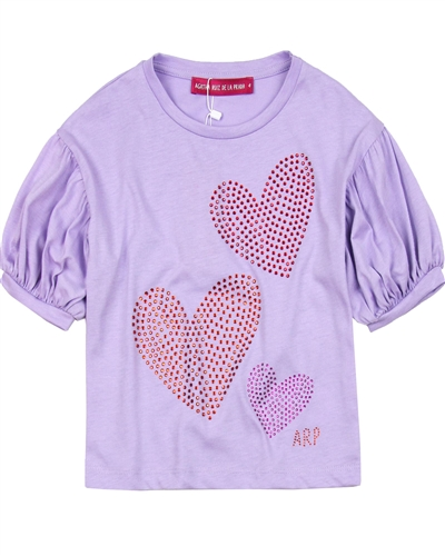 Agatha Ruiz de la Prada T-shirt with Bubble Sleeves