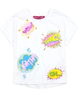 Agatha Ruiz de la Prada T-shirt with Comic Bubbles Print