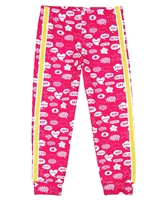 Agatha Ruiz de la Prada Terry Pants in Comic Bubbles Print