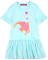 Agatha Ruiz de la Prada Jersey Dress with Fish Applique