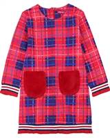 Agatha Ruiz de la Prada Plaid Sweatshirt Dress
