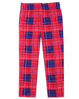 Agatha Ruiz de la Prada Plaid Terry Leggings