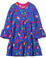 Agatha Ruiz de la Prada Tiered Dress with Bell Sleeves