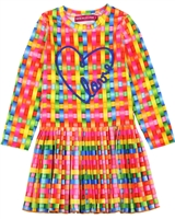 Agatha Ruiz de la Prada Multicolour Velour Dress
