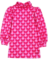 Agatha Ruiz de la Prada Terry Dress with Puffed Sleeves