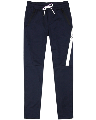 Bellaire Junior Boys Sporty Pants with Details in Navy