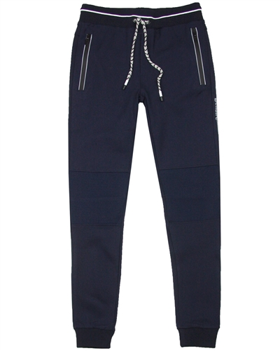 Bellaire Junior Boys Sporty Pants with Striped Knee Inserts