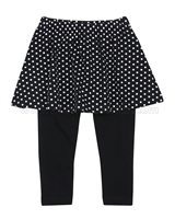 Blu by Blu Leggings with Skirt Dot to Dot