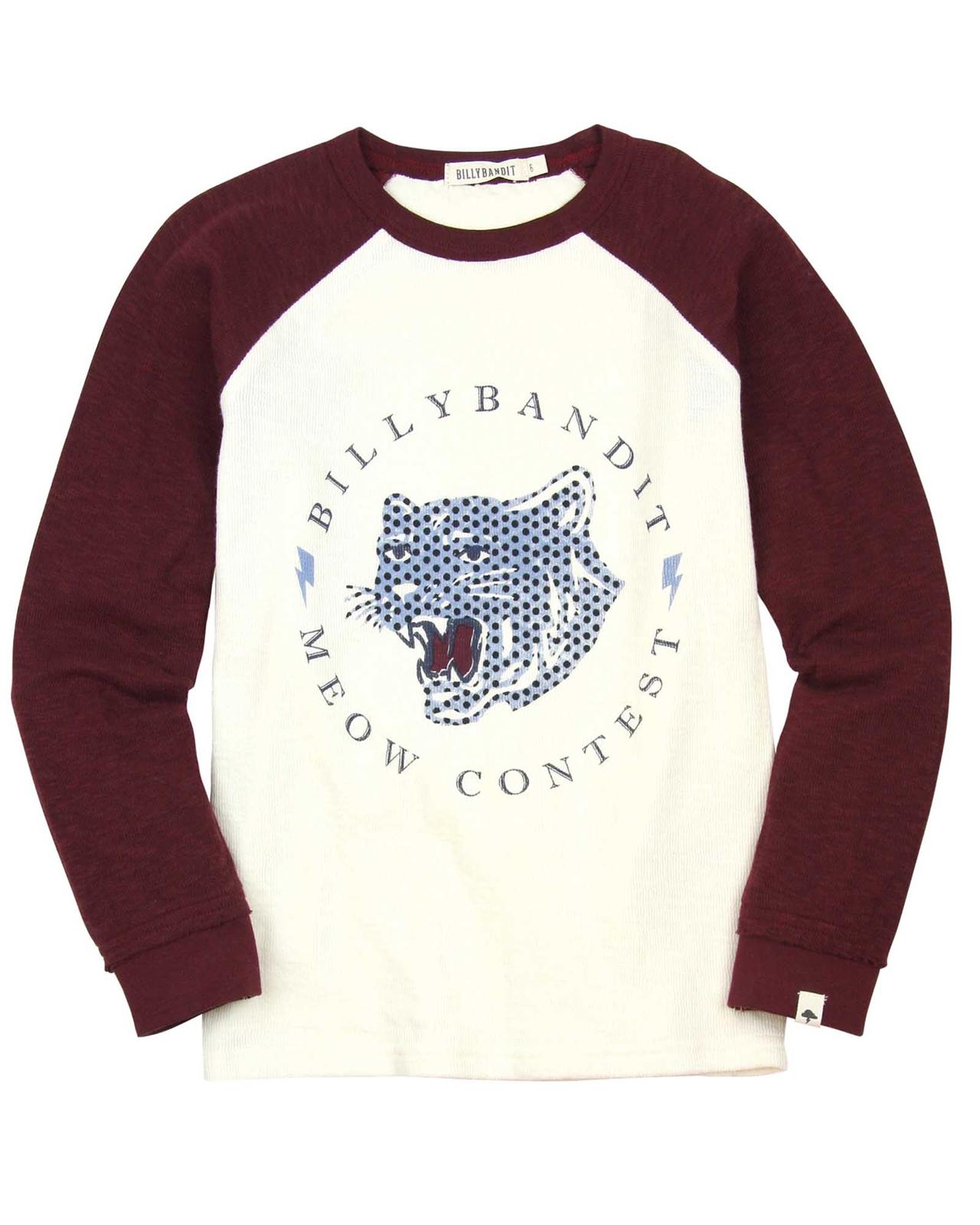 a437b52d Billybandit Raglan Sleeves Knit T-shirt