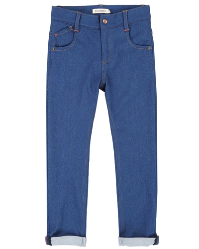 Billybandit Denim Pants with Roll up Bottoms