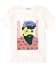 Billybandit Speckled T-shirt with Print