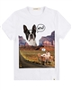 Billybandit T-shirt with DogPrint