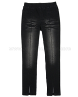 Blu by Blu Denim Pants Go Black White