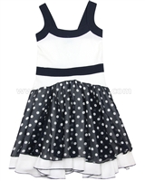 Blu by Blu Polka Dot Dress Bling Bling