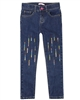 Billyblush Denim Pants with Sequin Embroidery