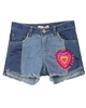 Billyblush Denim Shorts with Embroidery