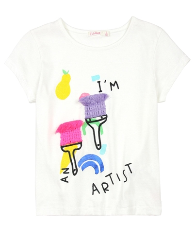 Billyblush T-shirt with Paintbrushes