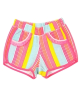 Billyblush Striped Terry Shorts