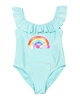 Billyblush Swimsuit with Flounce in Blue