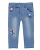 Boboli Baby Girls Jogg Jeans with Hearts