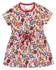 Boboli Baby Girls Dress in Ladybug and Floral Print