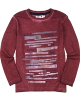 Boboli Boys T-shirt with Washed Effect