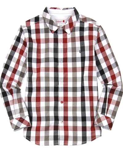 Boboli Boys Check Shirt