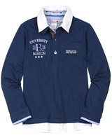 Boboli Boys Layered Look Polo