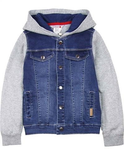 Boboli Boys Combination Jogg Jean Jacket