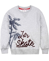 Boboli Boys Sweatshirt with Palm Print