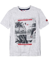 Boboli Boys T-shirt with Surfer Print,