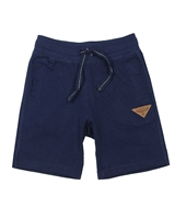 Boboli Boys Jersey Jogging Shorts in Navy