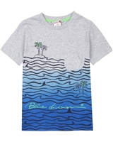 Boboli Boys T-shirt with Ocean Print
