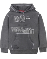 Boboli Boys Hooded Sweatshirt with Print