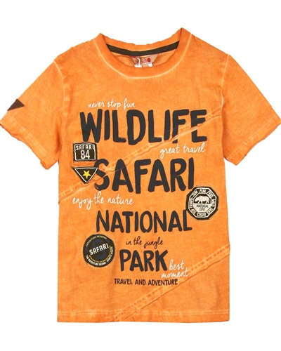 Boboli Boys T-shirt with Safari Print