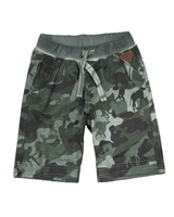 Boboli Boys Sweatshorts in Camo Print