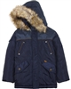 Boboli Boys Classic Hooded Parka Coat