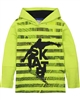 Boboli Boys Hooded T-shirt with Striped Front