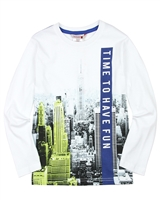 Boboli Boys T-shirt with City Print