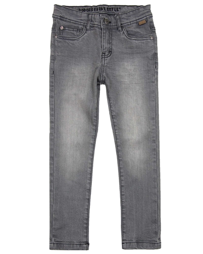 Boboli Boys Basic Denim Pants in Grey