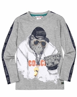 Boboli Boys T-shirt with Monkey Print