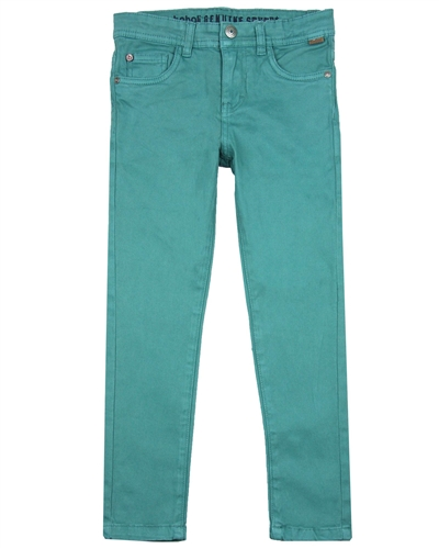 Boboli Boys Twill Pants in Cypress