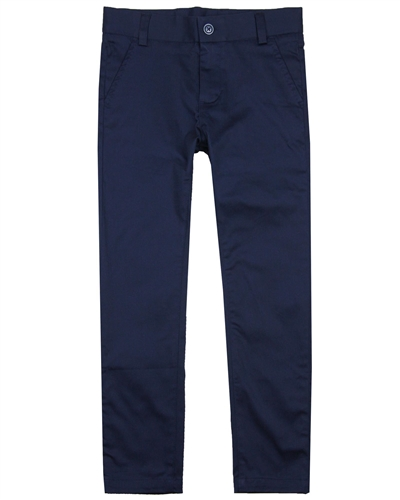 Boboli Boys Stretch Satin Twill Dress Pants