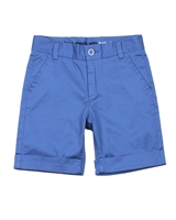 Boboli Boys Satin Twill Dress Bermuda Shorts