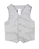 Boboli Boys Satin Twill Dress Vest