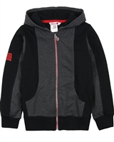 Boboli Boys Colour-block Hooded Sweatshirt