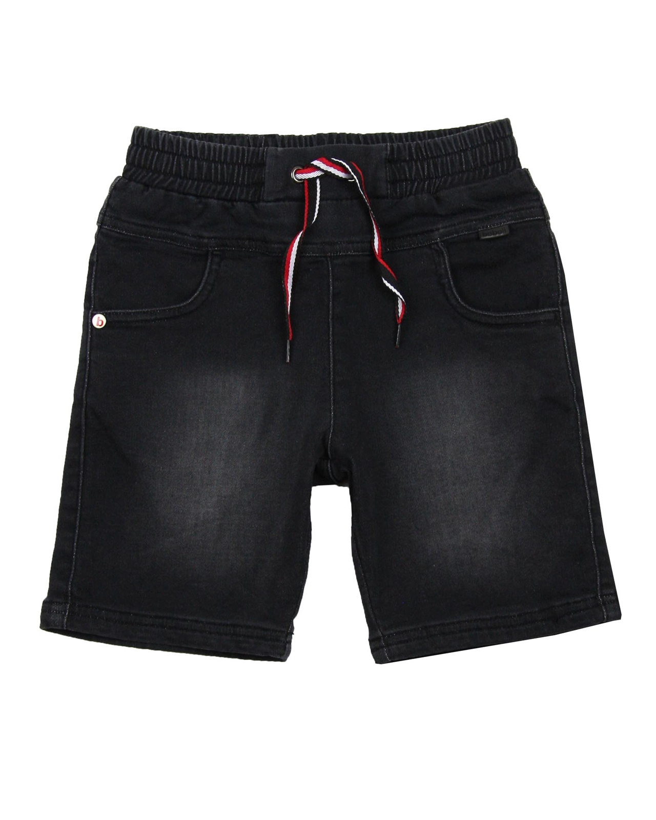 Sizes 4-16 Boboli Boys Denim Shorts with Elastic Waistband