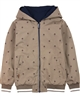 Boboli Boys Reversible Windbreaker Jacket